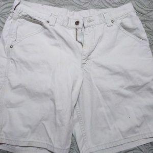 Lee Dungarees Khaki Carpenter Shorts